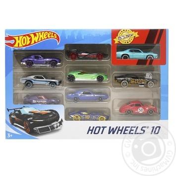 Іграшка Hot Wheels Автомобіль базовий 10шт в асортименті