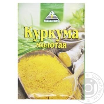 Приправа Cykoria Sa Куркума молотая 15г - купить, цены на Ашан - фото 2