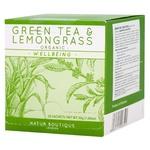 Чай зелений Natur Boutique органічний з лемонграсом 30г
