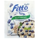 Каша Fitto light вівсяна швид.пригот. з чорн.40г
