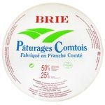 Cheese brie Paturages comtois soft 50%