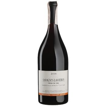 Вино Domaine Tollot-Beaut Savigny Les Beaune красное сухое 14,5% 0,75л - купить, цены на СитиМаркет - фото 1