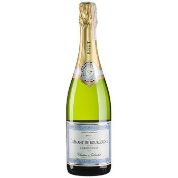 Вино ігристе Chartron et Trebuchet Cremant de Bourgogne рожеве брют 12% 0,75л - купити, ціни на CітіМаркет - фото 1