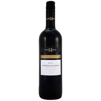Marcel Martin Cabernet Sauvignon Red Dry Wine 13% 0,75l - buy, prices for CityMarket - photo 1