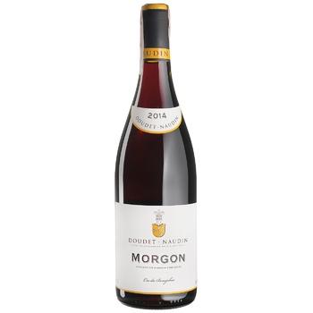 Вино Doudet Naudin Morgon червоне сухе 13% 0,75л - купити, ціни на CітіМаркет - фото 1