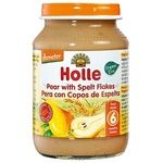 Holle Pear with Spelled Flakes Puree from 6 Months 190g