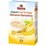 Каша Holle манна з бананом з 6міс.250г