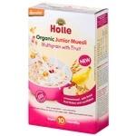 Мюслі Holle мультизлакові з фруктами дитячі з 10міс 250г