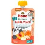 Пюре Holle Panda Peach персик,абрик,банан,спельт.з 8міс.д/п 100г