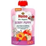 Пюре Holle Berry Puppy ябл,персик,ліс.ягод.з 8міс.д/п 100г
