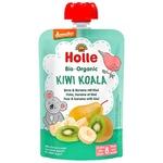 Пюре Holle Kiwi Koala груш,банан,ківі з 8міс.д/п 100г