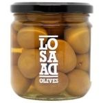 olive Aceitunas losada canned 198g glass jar