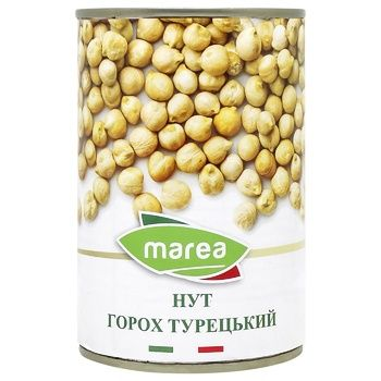 Vegetables chickpea Marea Turkish canned 400g can - buy, prices for CityMarket - photo 1