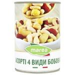Ассорти 4 вида бобовых Marea ж/б 400г