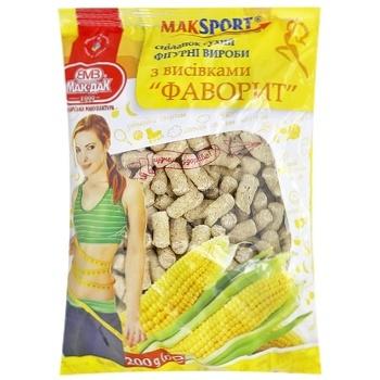 Отруби Мак Дак пшеничные спортивные 200г - купить, цены на СитиМаркет - фото 1