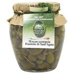 Vegetables capers Frantoio di santagata canned 290g glass jar