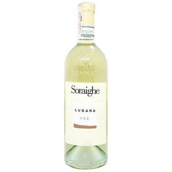 Вино Bennati Soraighe Lugana D.O.C. біле сухе 12,5% 0,75л - купити, ціни на CітіМаркет - фото 1