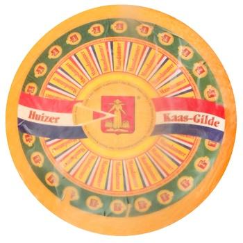 Сыр Huizer Kaas Маасдам Gild твердый 45% - купить, цены на СитиМаркет - фото 1