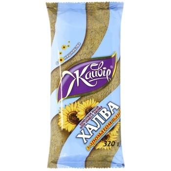 Zhayvir Sunflower Halva with Vanilla Flavor 320g - buy, prices for CityMarket - photo 1