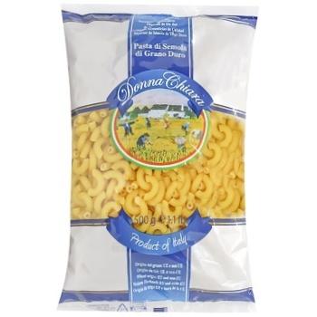 Макаронні вироби Donna Chiara Chifferi з твердих сортів пшениці 500г