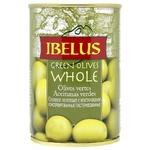Оливки Ibelus зелені з кіст.з/б 292мл