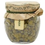 Vegetables capers Frantoio di santagata canned 90g glass jar