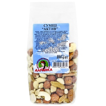 Dried fruits Darynka Active 200g Ukraine - buy, prices for CityMarket - photo 1