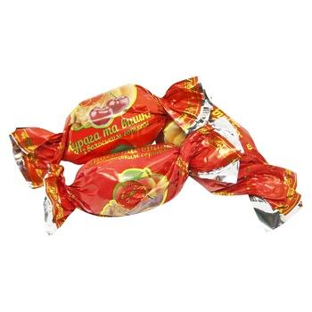 Конфеты Мария Курага и вишня с грецким орехом - купить, цены на СитиМаркет - фото 1