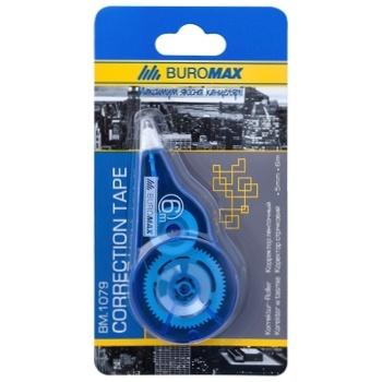 Коректор Buromax стрічковий 5мм*6м 1шт - купити, ціни на CітіМаркет - фото 1