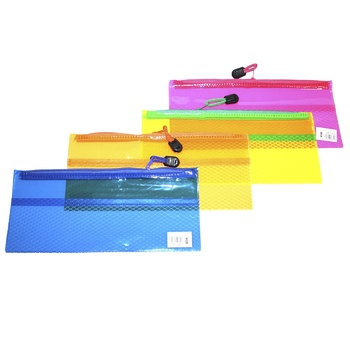 Vgr Plastic Folder on Zipper 240x105mm assortment - buy, prices for CityMarket - photo 2