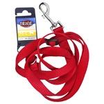 Повідок Trixie Classic нейлон червоний M-L 1,2-1,8м*20мм