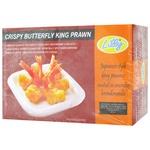 Lilly Butterfly frozen in breading shrimp 500g
