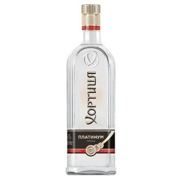 Водка Хортиця Platinum 40% 1л