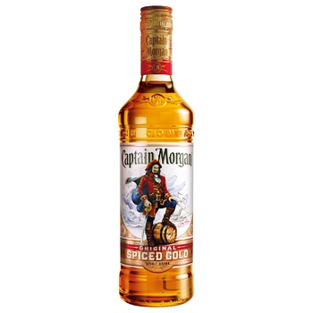Captain Morgan Spiced Gold Based on Caribbean Rum Spirit Drink 35% 1l - buy, prices for CityMarket - photo 1