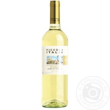 Вино Piccola Italia Bianco біле напівсолодке 12% 0,75л - купити, ціни на МегаМаркет - фото 1