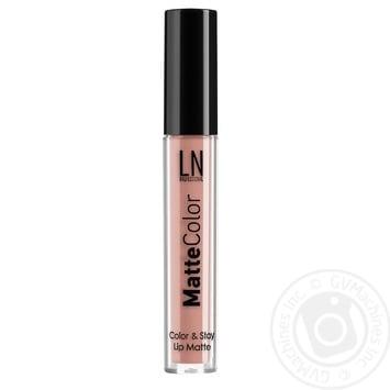 LN Professional Lip Gloss Matte Color 02 - buy, prices for MegaMarket - image 1