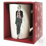 Чашка Модна дівчина 390мл арт. 21-279-080 Keramia х6