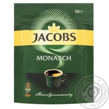 Jacobs Monarch Instant Coffee 50g - buy, prices for MegaMarket - image 1
