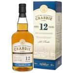 Halewood Crabbie Whiskey 12y.o. 40% 0,7l