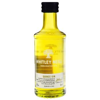 Джин Whitley Neill Quince 43% 50мл - купити, ціни на CітіМаркет - фото 1