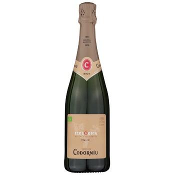 Codorniu Cava Ecologica Eco Brut White Sparkling Wine 12% 0,75l