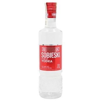 Горілка Sobieski Premium 40% 0,5л