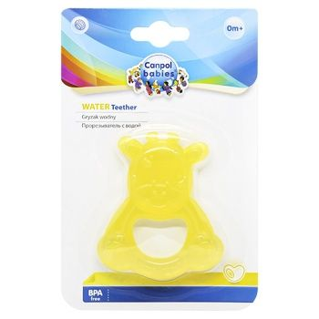 Canpol Babies GiraffeToy-Teether with Water in Assortment - buy, prices for CityMarket - photo 1