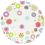 Тарелка мелкая Krauff Blumen 26,6см
