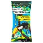 Kohana Fitness&Go Citrus Jungle Kumquat Bar 40g