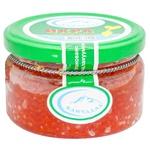 Kamchadal salmon red grain-growing caviar 185g