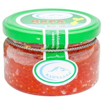 Salmon caviar Kamchadal glass jar 185g - buy, prices for Auchan - photo 1