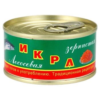 Kamchatska Traditional Granular Salmon Caviar - buy, prices for Auchan - photo 1