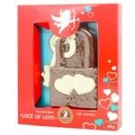 Shoud'e Lock of love Chocolate figure 110g
