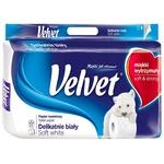 Toilet paper Velvet white 8pcs
